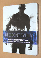 "Resident evil 6 Steelbook ( G2 PS3 ) New & Sealed  ""NO GAME / Kein Spiel"""