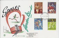 Gordon BANKS Signed Autograph FDC First Day Cover COA AFTAL England World Cup 66