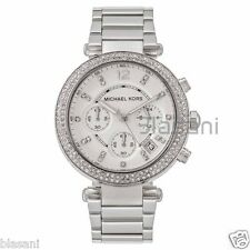Michael Kors Original MK5353 Women's Parker Stainless Chronograph Bracelet Watch