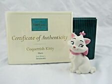 "WDCC ""Coquettish Kitty"" Marie from Disney's Aristocats in Box with COA"