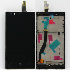 New LCD Display Digitizer Touch Screen Glass Assembly Frame For Nokia Lumia 720