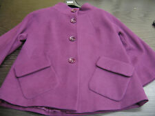 M & S / MARKS AND SPENCER AUTOGRAPH LADIES PURPLE / GRAPE JACKET SIZE UK 10