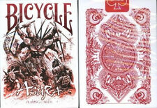 Bicycle Asura Red Playing Cards Decks New