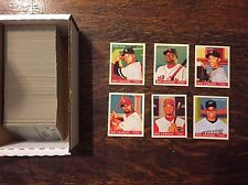 2007 Goudey Mini Green Back Complete Set 1-200 - like 1933 - New out of packs