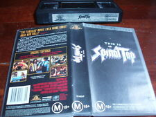 This is Spinal Tap SPECIAL EDITION  VHS VIDEO TAPE