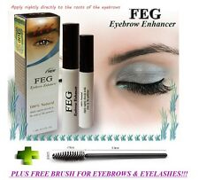FEG Eyebrow Enhancer 3ml, Growth Serum - Fuller & Thicker Brows + FREE BRUSH!!!