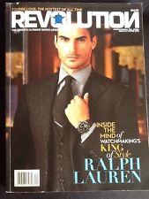 """Revolution Magazine """"Ralph Lauren"""" Winter 2013"""