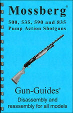 Mossberg 500 535 590 835 Shotguns Gun-Guide Manual ©2016 Direct From Publisher