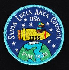 BSA mint 1990 Santa Lucia Area Council Cub Scout Leaders POW WOW training patch