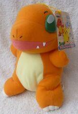 "Official Banpresto Pokemon 1998 UFO Charmander Soft Plush Toy Doll Japan MWMT 8"""
