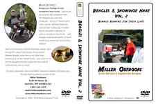 RABBIT HUNTING Video DVD ~ BEAGLES/Snowshoe Hare Vol. 2