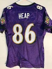 Reebok Women's NFL Jersey BALTIMORE Ravens Todd Heap Purple sz XL
