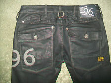 G STAR 3301 96 COATED ELWOOD HERITAGE JEANS SIZE 9