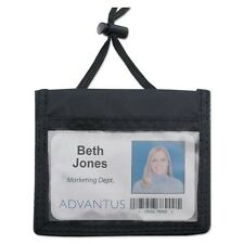 Advantus ID Badge Holder/Convention Pouch - 75452