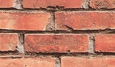 Fablon Sticky Back Vinyl - Self Adhesive - Brick Wall 45cm X 2m - FAB10222