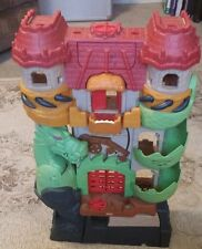 Fisher-Price IMAGINEXT DRAGON WORLD FORTRESS CASTLE Lights & Sounds