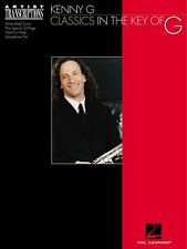 Kenny G Classics in the Key of G Soprano and Tenor Saxophone Artist Tr 000672462