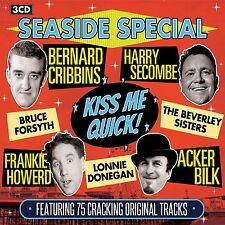 SEASIDE SPECIAL ~ KISS ME QUICK 75 CRACKING NOSTALGIC ORIGINALS NEW 3 CD SET