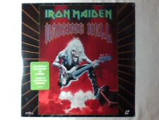 IRON MAIDEN Raising hell laserdisc USA RARISSIMO SIGILLATO VERY RARE SEALED!!!