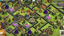 $50 Clash of Clans Account MID TH9 CHEAP RUSH.