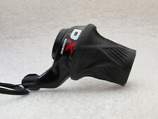 Sram X0 Grip Shift, Twist Shifter, Front Only(2 Speed), Black/Red, For 2 x10 Spd
