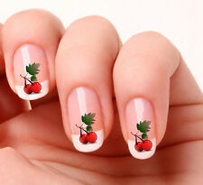 20 Nail Art Decals Transfers Stickers #18 - Cherries
