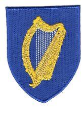 Toppe Toppa PATCH stemma blasone Bandiera  IRLANDA IRLANDESE IRELAND ricamata