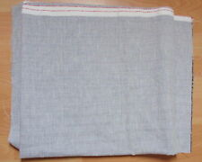1 1/2 YDS GREY - VERY FINE TWEED/CHECK, SUITING/DRESS FABRIC -