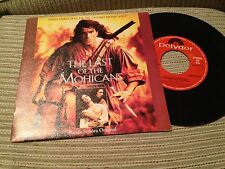 "TREVOR JONES SPANISH 7"" SINGLE SPAIN PROMO LAST OF THE MOHICANS OST SOUNDTRACK"