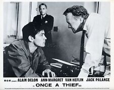 ALAIN DELON VAN HEFLIN ONCE A THIEF 1965 VINTAGE PHOTO ORIGINAL #2