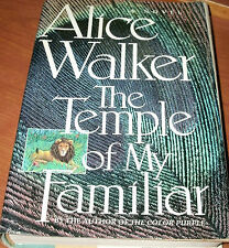 THE TEMPLE OF MY FAMILIAR by ALICE WALKER 1989 HCDJ 1ST