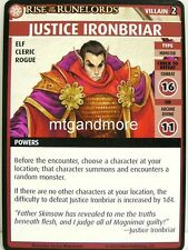 Pathfinder Adventure Card Game - 1x Justice Ironbriar - The Skinsaw Murders
