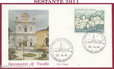 ITALIA FDC ROMA SACRO MONTE DI VARALLO VC 1986 ANNULLO TORINO Y237