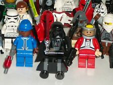 Mixed lot of 30 Star Wars Lego Mini Figures-0822