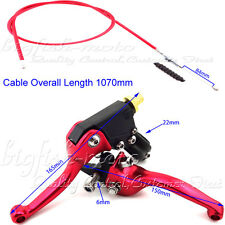Red Brake Clutch Levers Cable Fit Chinese Pit Bike CRF 50 70 SSR Thumpstar Dirt