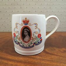 QUEEN ELIZABETH II CORONATION Mug, 1953, Royal, Wacol England
