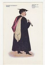 Oxford University Robes, Doctor of Music Postcard, B282