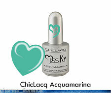 ChicLacq Acquamarina Smalto Semipermanente UV Soak-Off Nail Polish Unghie KyLua