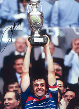 Michel Platini - France - Euro'84 - Signed Autograph REPRINT