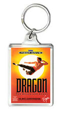 DRAGON THE BRUCE LEE STORY MEGA DRIVE KEYRING LLAVERO
