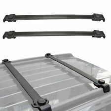2007-2015 Black Jeep Patriot OE Style Roof Rack Cross Bar 2PCS Aluminum