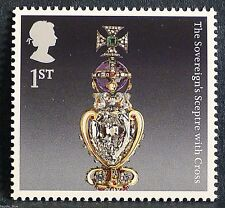 "The Crown Jewels ""The Sovereign`s Sceptre"" illustrated on 2011 Stamp - U/M"