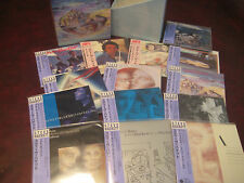 STEVE HACKETT 14 JAPAN REPLICAS  A OBI AUDIOPHILE CD Box Set  CHRISTMAS SPECIAL