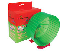 Plastic Hamster Mouse or Small Rodent Wheel with Cage Clip or Free Standing