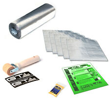 10 SqFt GTMAT Sound Dampening Car Noise Proofing Insulation Roll & Sheet Bundle