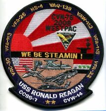 CVN-76 USS RONALD REAGAN CVW-14 WESTPAC 2008 US Navy Ship Squadron Cruise Patch