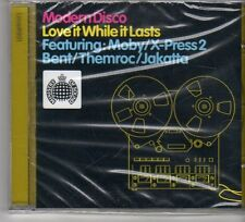 (FP663) Modern Disco, Love It While It Lasts - Ministry of Sound sealed CD
