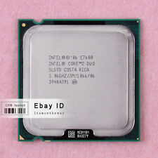 Free shipping SLGTD SLGTN Intel Core 2 Duo E7600 CPU 3.06 GHz LGA 775 1066 MHz