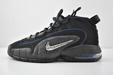 Mens Nike Air Max Penny 1 Basketball Shoes Size 8.5 Black Blue White 685153 001