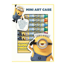 DESPICABLE ME MINION MINI ART CASE CRAYONS PAINT KIDS ART SET